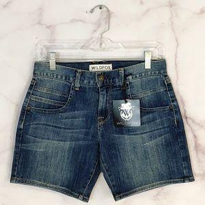 Wildfox Denim Shorts NWT